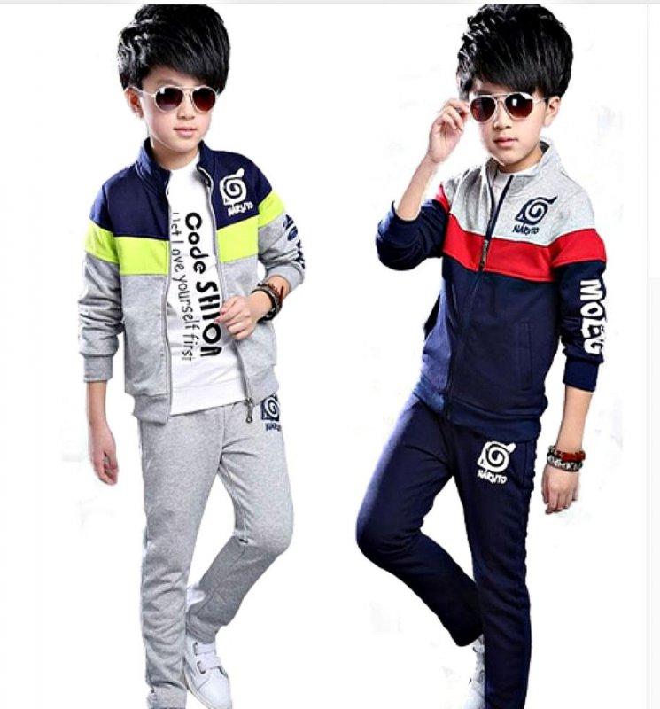 """Модные детские спортивные костюмы для мальчиков на молнии в стиле """"""""хип-хоп"""""""""""
