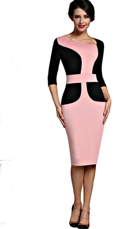 Модное, элегантное женское платье