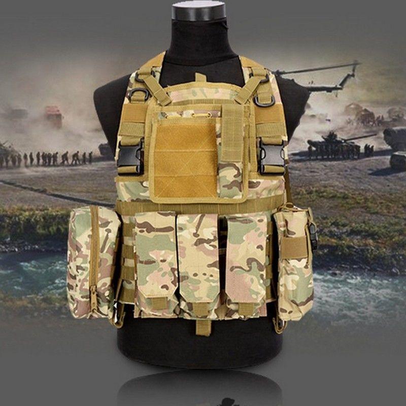 Военно-тактический жилет-(Молл) для полиции, пейнтбола, охоты.