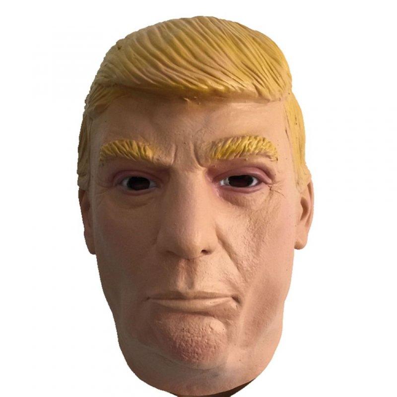 Маскарадная маска-(Дональд Трамп)