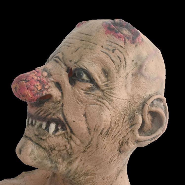 Маскарадная маска-(Зомби)