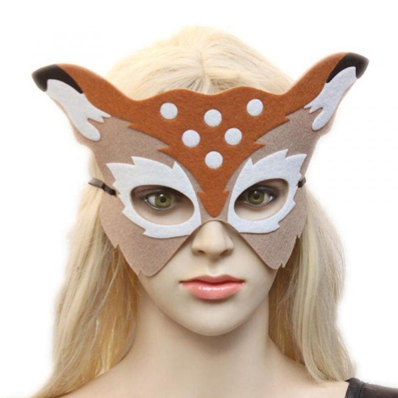 Универсальная карнавальная маска для глаз для вечернки