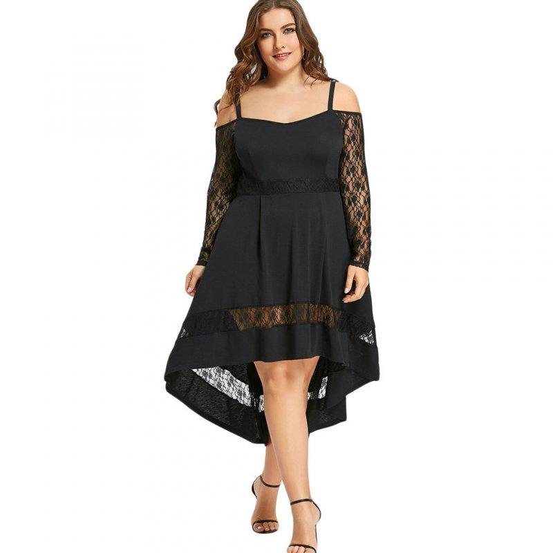 Платье с открытыми плечами большихразмеров.