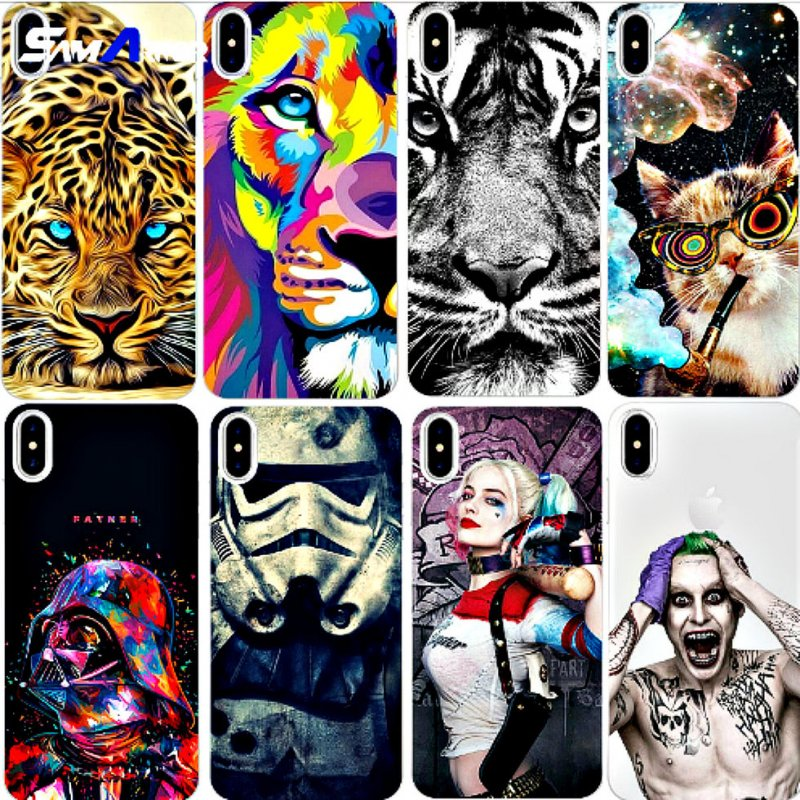 Красивый чехол для iphone 8 7x4 4S 5 5C 5S SE 6 6 S Plus Grand премьер J3 J5 J7 A3 A5 2016 2017 S5 S6 S7 edge S8 плюс