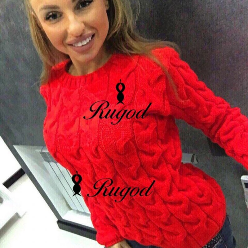 Модная женская трикотажные свитера.