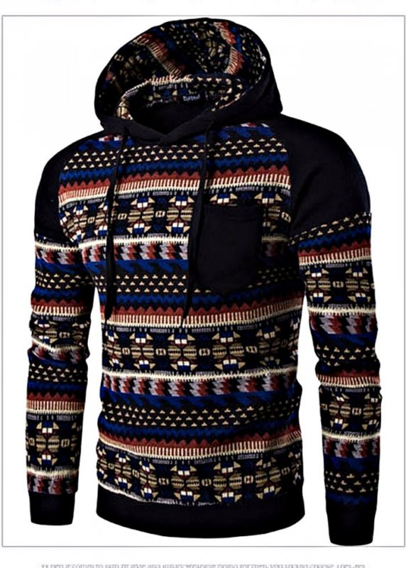 Бренд модный свитер с капюшоном для мужчин.
