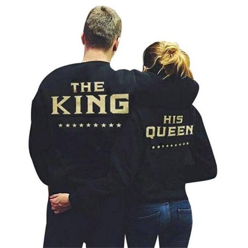 Модная мужская толстовка-(King Queen)