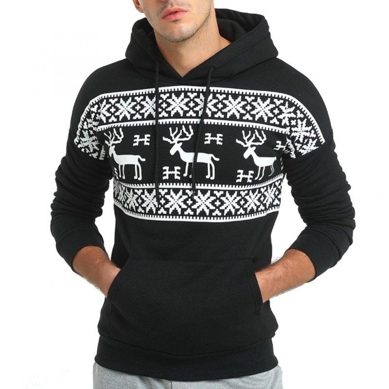мужской вязаный толстый шерстяной свитер с капюшоном купить в виннице