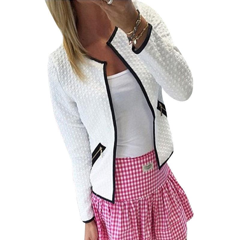 Демисезонные куртки-кардиган для женщин