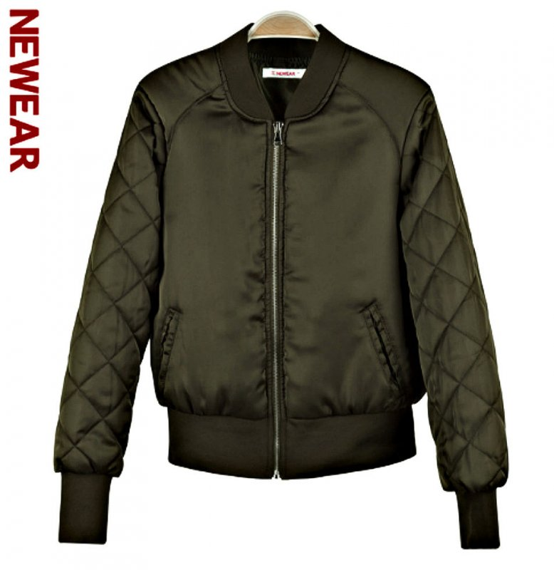 Зимняя утолщенная. модная, мягкая парка-куртка-(Бомбер) для женщин.