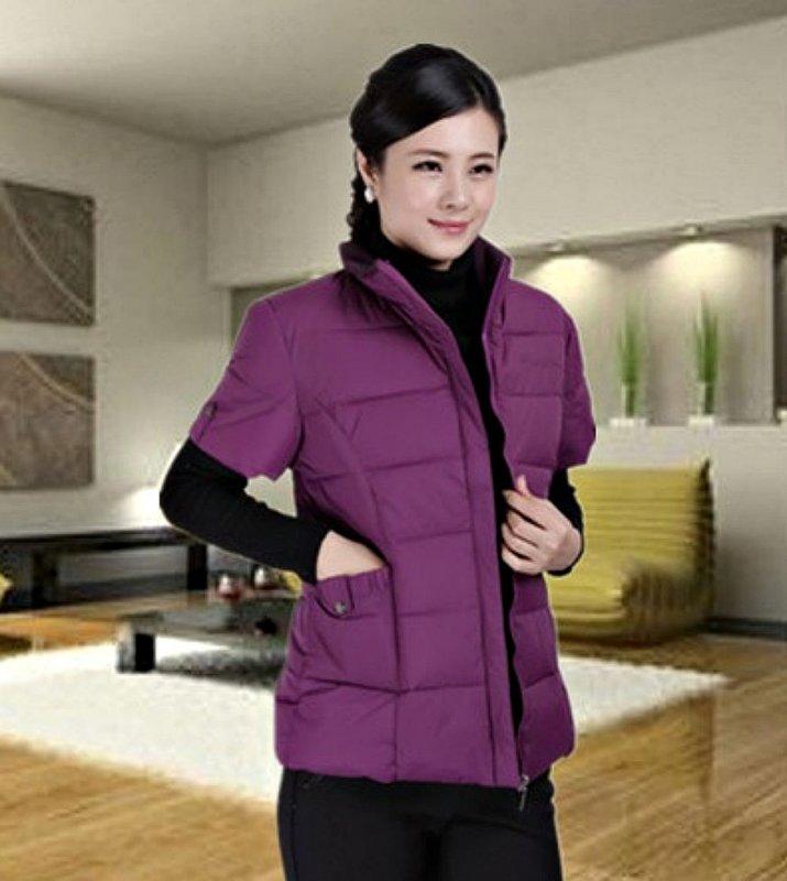 Куртка-жилет с хлопка для женщин.