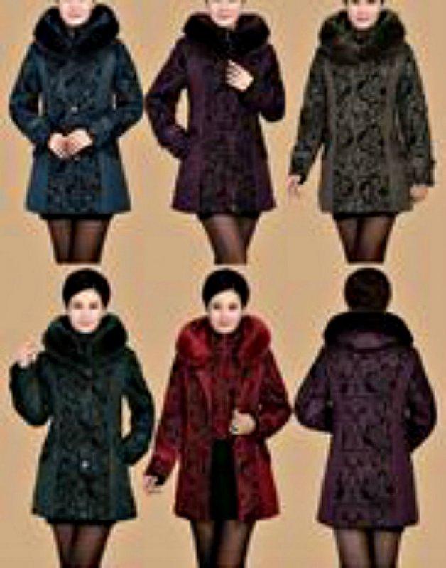 Теплая мягкая зимняя куртка для женщин с меховым воротником.