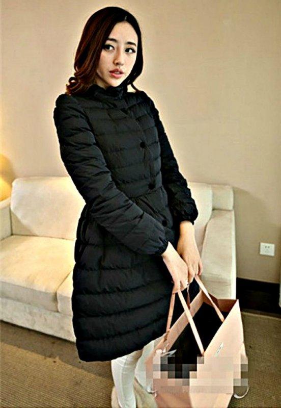 Теплая мягкая стеганая зимняя куртка для женщин на хлопковой подкладке.