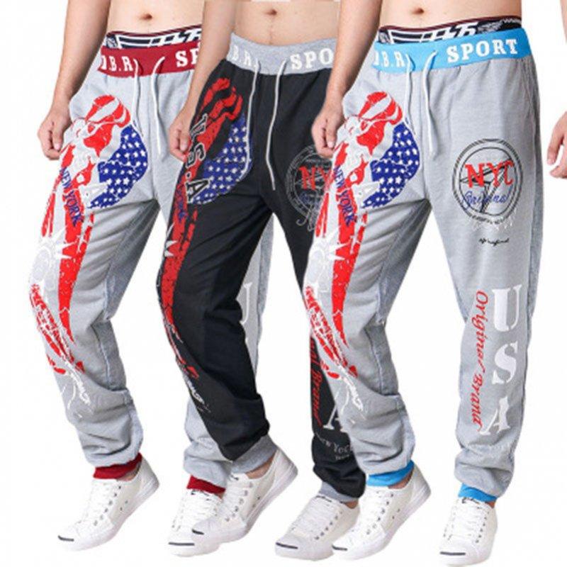 Мужские спортивные мото брюки. 3D принт