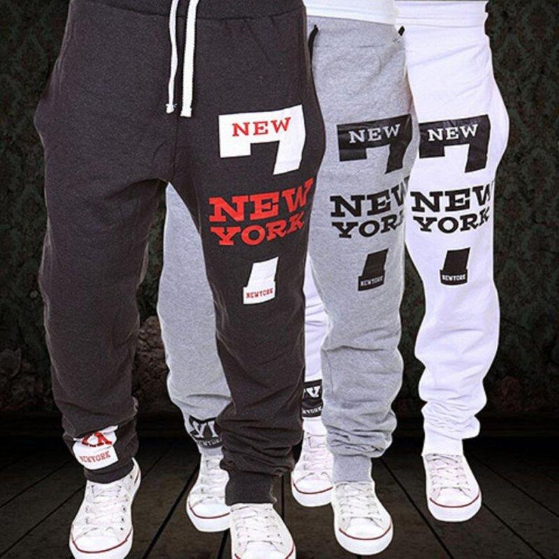 Повседневные спортивные штаны для мужчин-(Мотобрюки Треники).