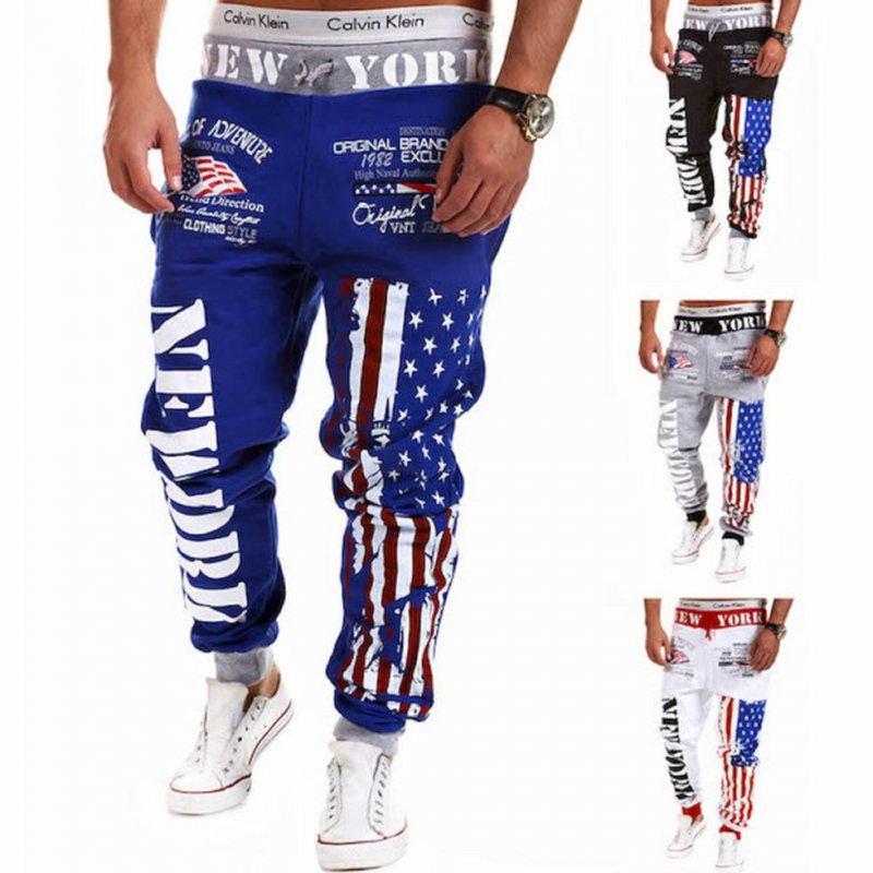 0eb671f06da1 Мужские спортивные штаны-(американский флаг) купить в Виннице