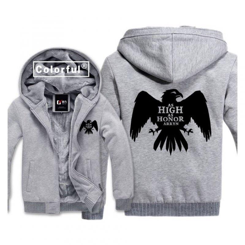 86224ceab19 Зимние мужские флисовые толстовки худи-(орел) - Магазин АлИгАл ...