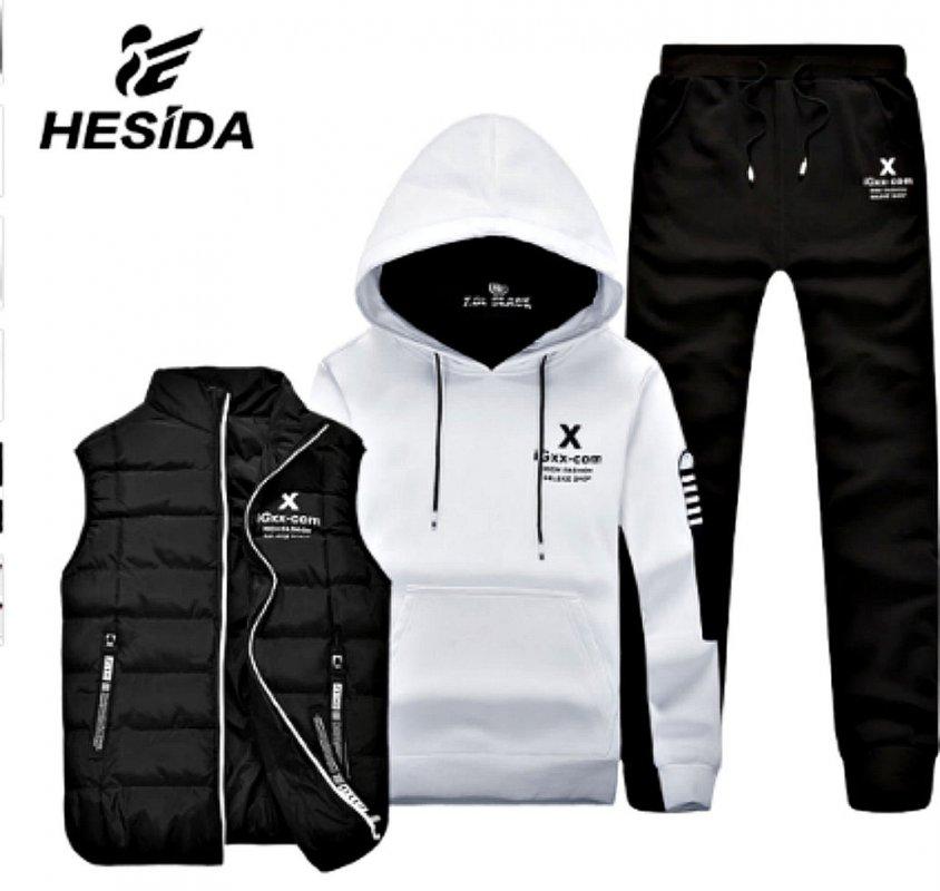 a5894105 Зимний фирменный спортивный костюм для мужчин для бега и т. д ...
