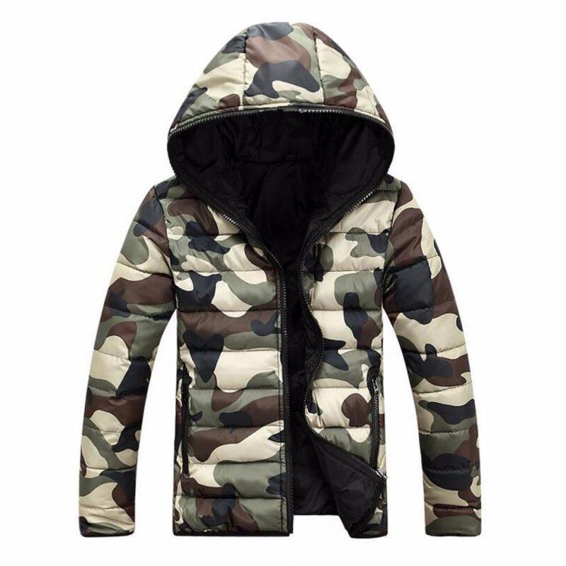 Армейская, зимняя, теплая куртка для мужчин