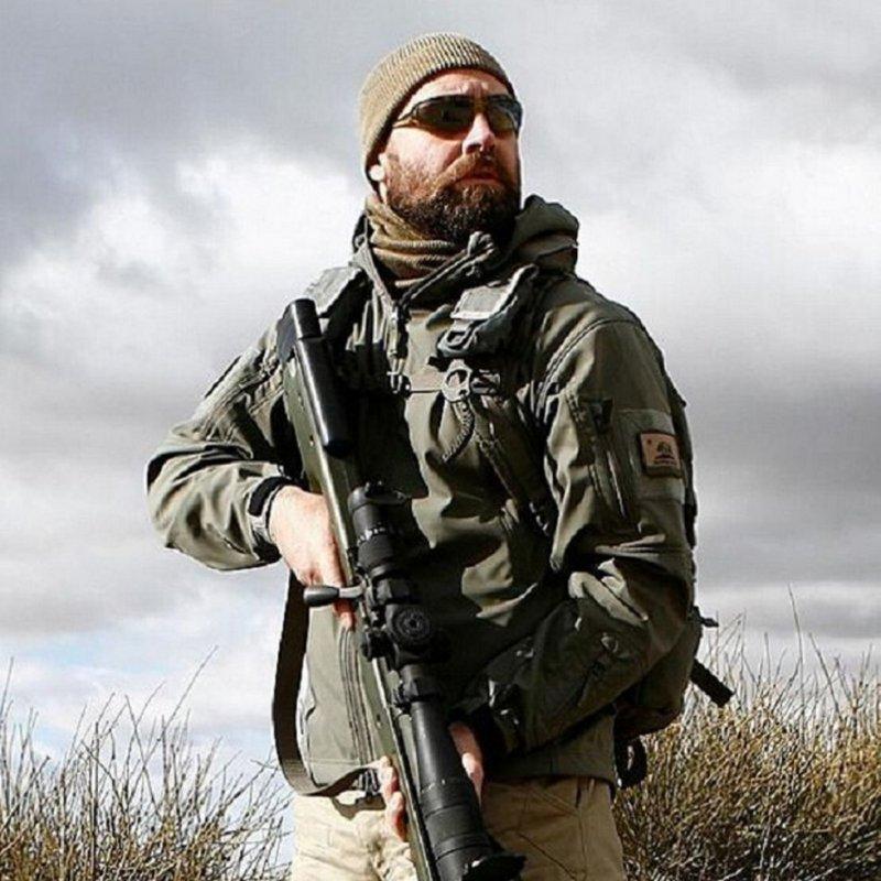 Купить Водонепроницаемая, ветрозащитная, военная, тактическая куртка (Акула)