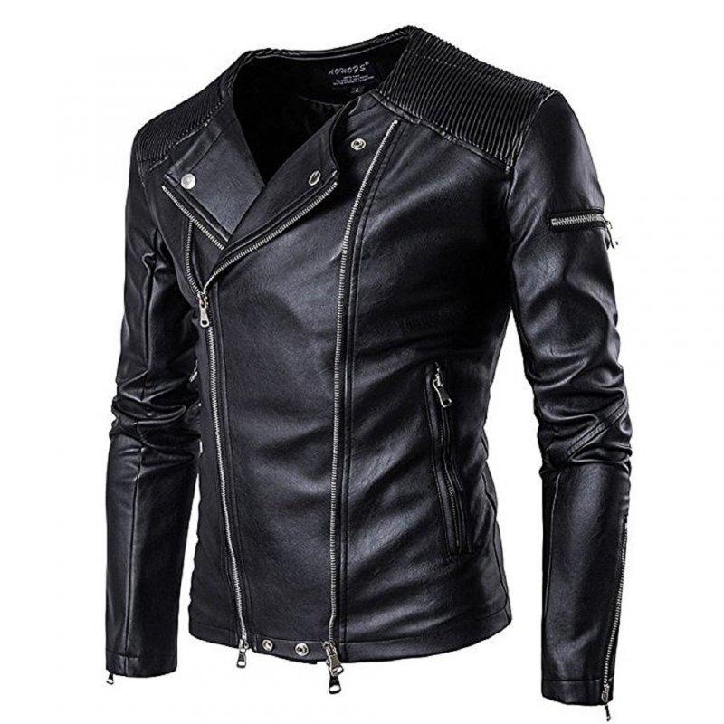 Водонепроницаемые мужские кожаные куртки