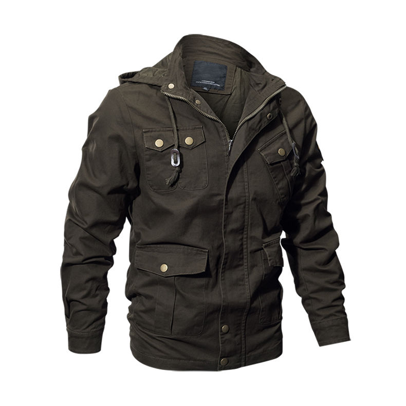 Военная униформа куртка ВВС США для мужчин с капюшоном