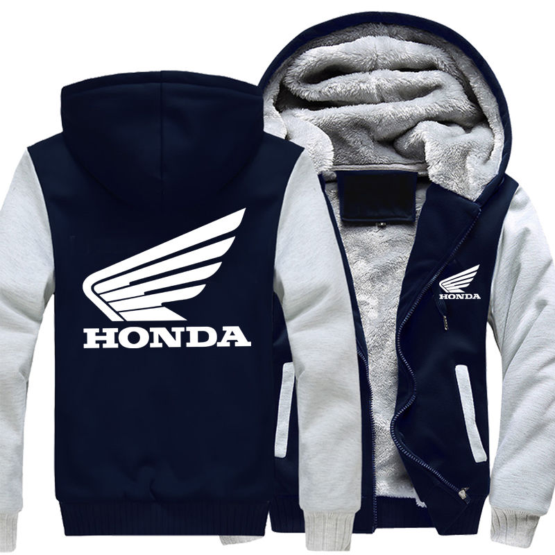 Кашемировая мотоциклетная куртка -(Honda)