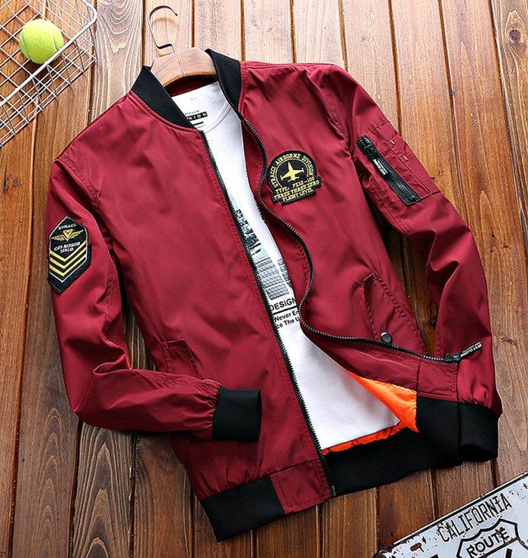 Курточка-(бомбер) для мужчин-(военная униформа).