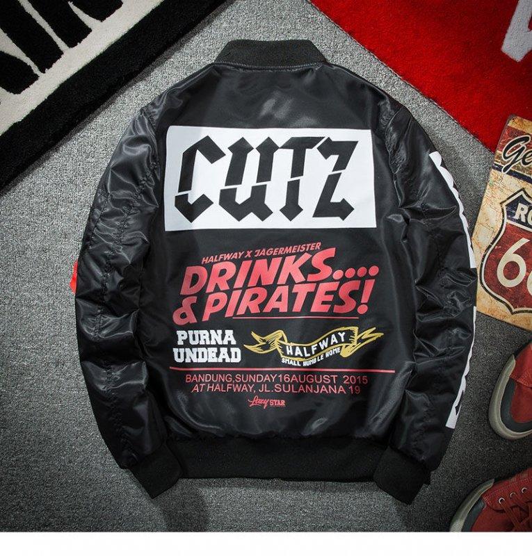 Модная курточка-(бомбер) для мужчин хип-хоп.