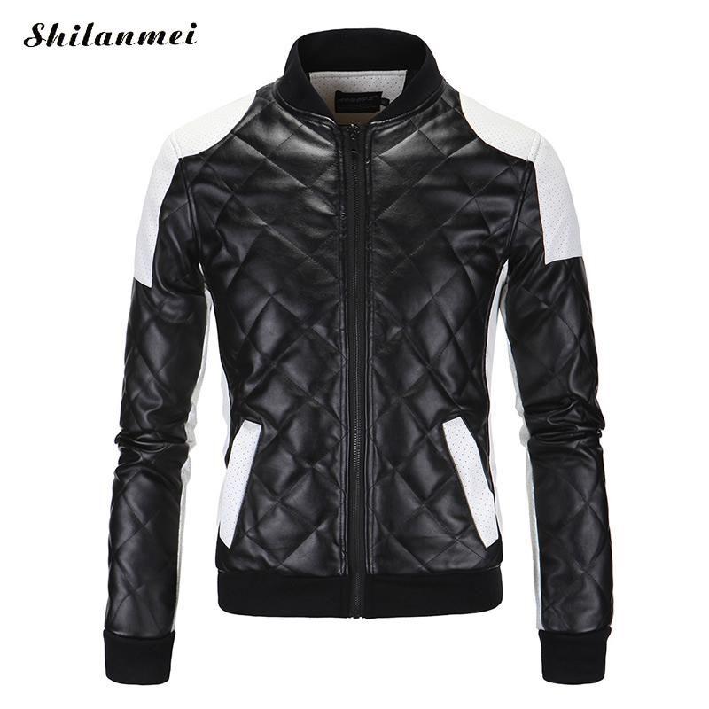 Черная кожаная куртка мужская.