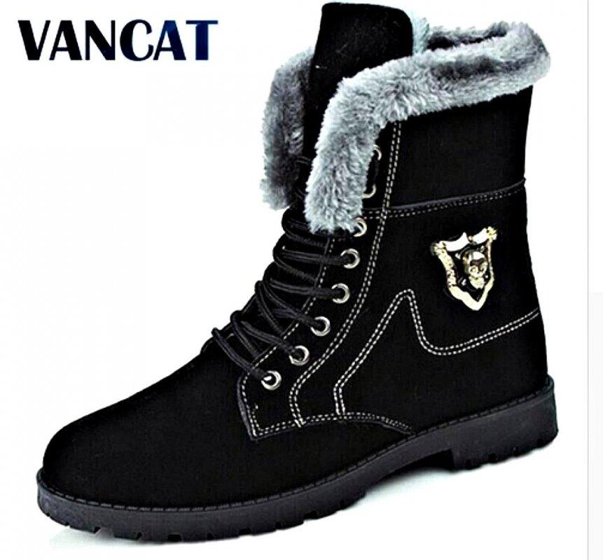 Брендовые теплые замшевые мужские и женские зимние ботинки.