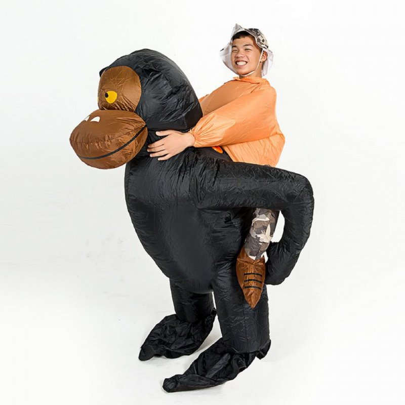 """Карнавальный надувной костюм для взрослых-\""""гориллы \"""""""