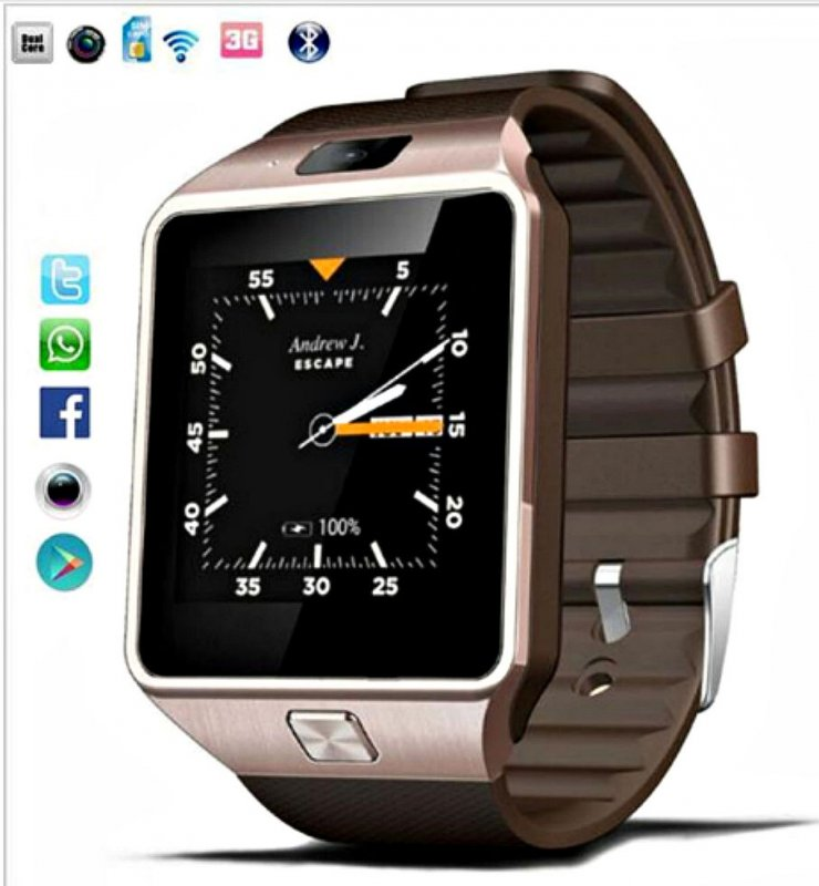 Умные часы Qw09 с Wi-Fi-(Android 4.4) самые крутые умные часы (Оригинал).