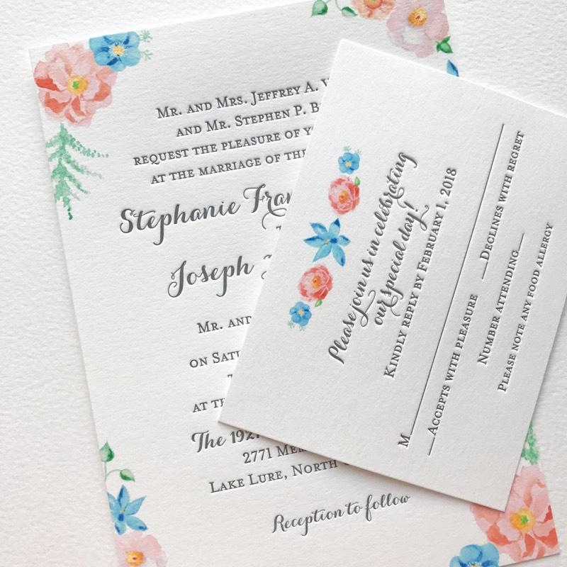 Пригласительные на свадьбу высокой печатью 001