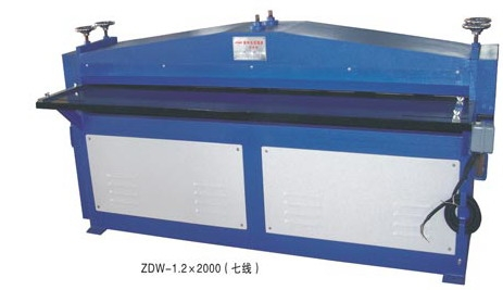 Buy The machine for drawing a stiffening rib of ZDW-1.2x2500