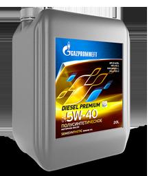 Моторное масло Gazpromneft Diesel Premium 15W-40 API CI-4/SL