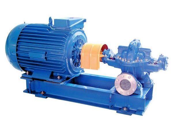 Double entry pump for clean liquids 1 d 630-906