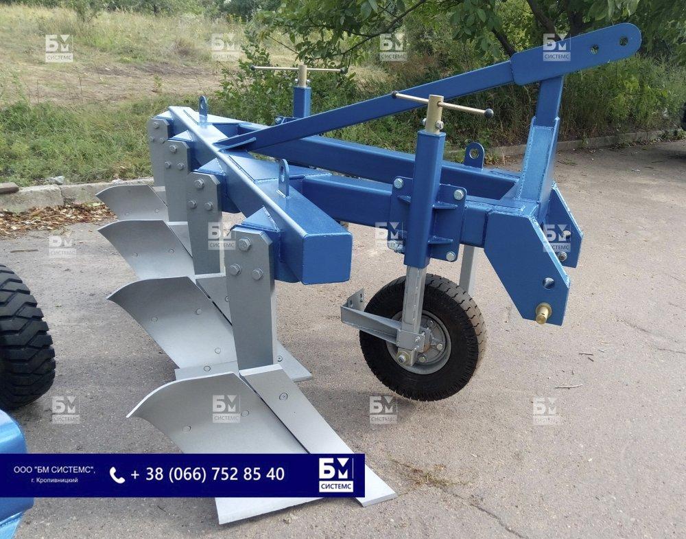 Плуг PS-4R, скоростной комбинированный, с/х техника, обработка грунта/почв