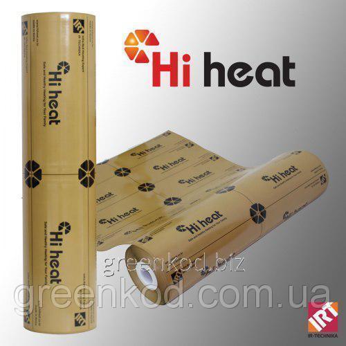 Инфракрасный пленочный теплый пол повышенной надежности IN-THERM AEN-100 (HI HEAT, Корея)