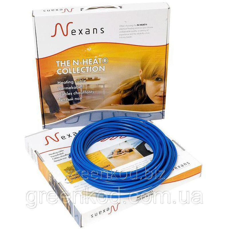 Нагревательный двухжильный кабель Nexans TXLP/2R, 17Вт/м, мощность 1000 Вт, (4,4/5,8/7,3 кв.м)