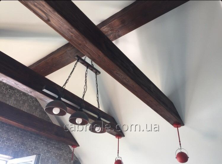 Деревянные балки на потолок.