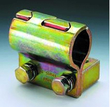 Хомуты для стальных труб HSRS