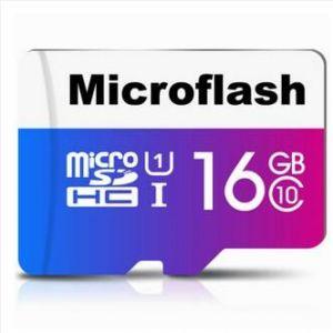 Buy Memory Card Microflash microSD 16G class10