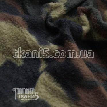 Buy Fabric fleece print camouflage 200T