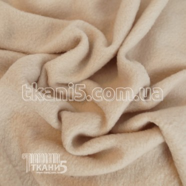 Fleece fabric light beige (200 GSM)