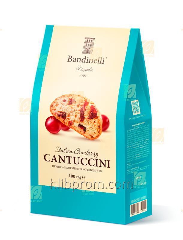"""Печенье """"Cantuccini"""" с клюквой 100 Г"""