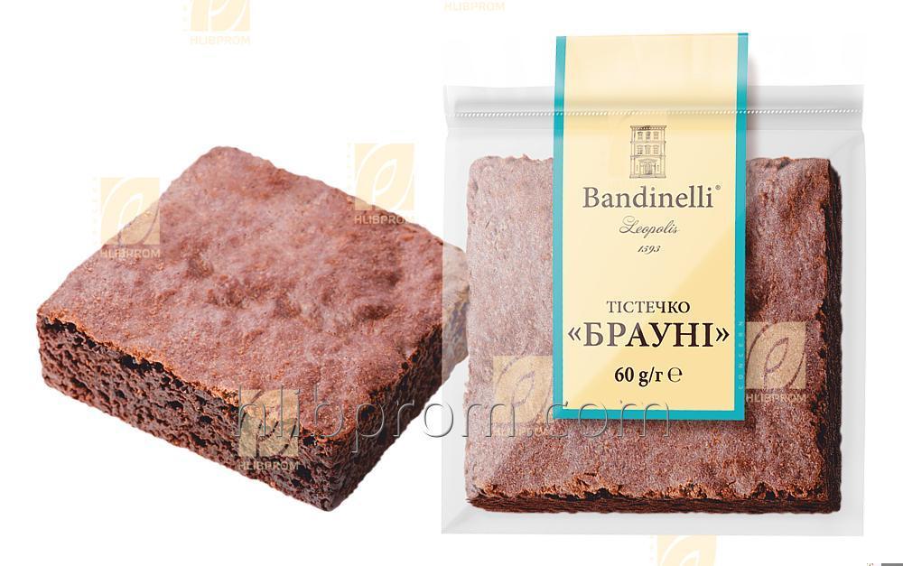 """Купить Пирожное """"Брауни"""" с шоколадним вкусом 0,06 кг"""