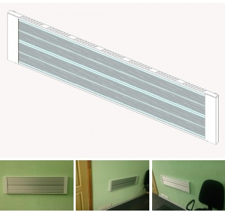 Buy Wall-mounted infrared heater Teplov H300