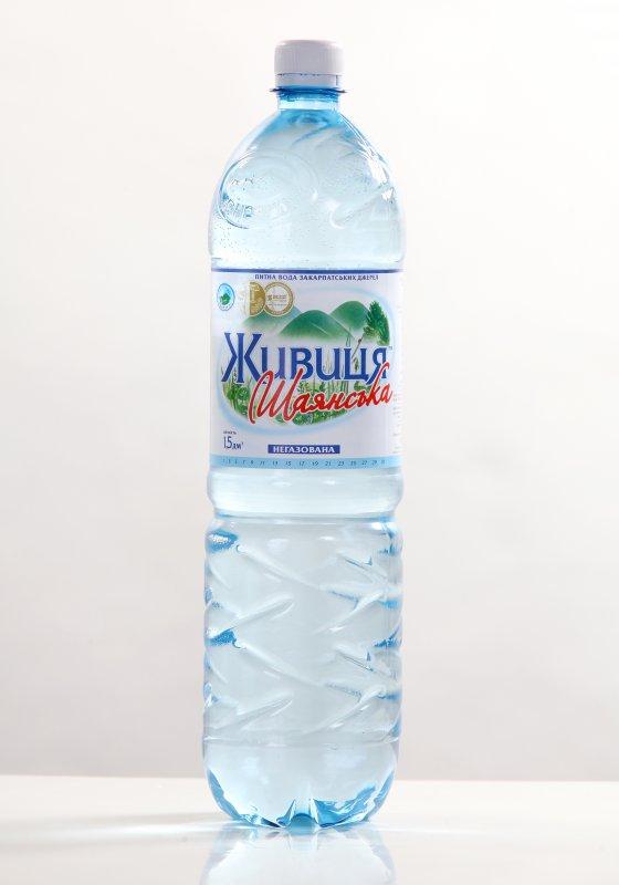 """Питьевая вода """"Живица Шаянская"""" 1.5 л негазированная"""