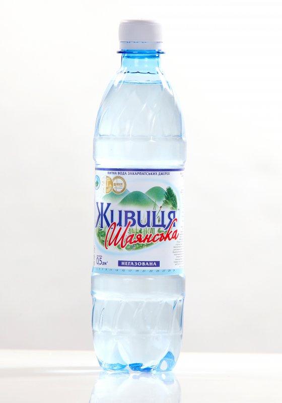 """Питьевая вода """"Живица Шаянская"""" 0.5 л негазированная"""